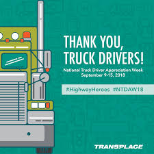 2018 National Truck Driver Appreciation Week | Logistically Speaking Celebrating Drivers During Truck Driver Appreciation Week Sept 9 National Eagle Cadian On Twitter Its Enterprises Celebrates Shell Rotella Nz Trucking Tmaf To Launch Campaign Imagine Youtube Ats Game American Service One Transportation