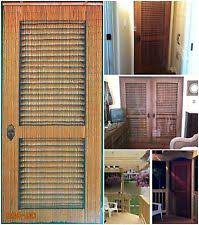 Beaded Curtains For Doorways Ebay by Louver Door Beaded Curtain 125 Strands Hanging Hardware Hand