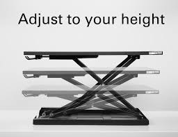 Varidesk Pro Plus 48 by X Elite Pro Height Adjustable Sit Stand Desk
