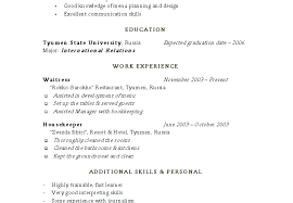 Resumes For Housekeeping Resume Sample Objective Housekeeper No Experience Executive Examples Samples Free In Cover Letter