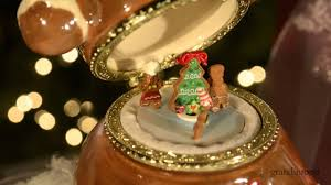 Grandin Road Christmas Trees by Gingerbread Man Christmas Music Box Grandin Road Youtube
