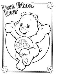Care Bears Coloring Pages Images Bear Free Book Printable Jumbo And Activity Cousins