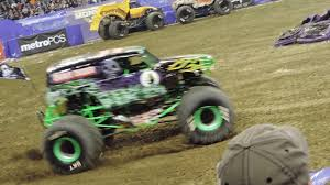100 Monster Trucks Indianapolis Grave Digger Truck Freestyle Jam 2018
