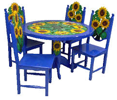 Mexican Painted Tables