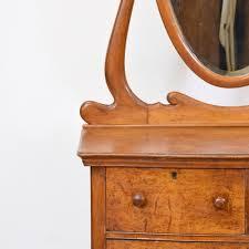 Birdseye Maple Vanity Dresser by Antique Birdseye Maple Vanity Dresser W Mirror Loveseat Vintage