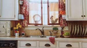 White French Country Kitchen Curtains by Lovely Curtains French Country Green Of Kitchen Home Designing
