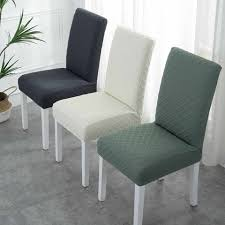 hohe qualität jacquard esszimmer stuhl für stühle küche esszimmer hotel bankett stuhl abdeckungen stretch spandex elastische sitz fall