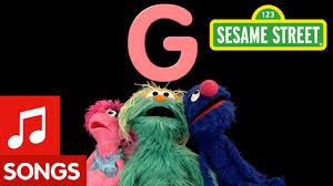 Sesame Street Letter G Letter of the Day