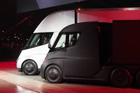 This Is Tesla's Big New All-electric Truck – The Tesla Semi ... Wkhorse Introduces An Electrick Pickup Truck To Rival Tesla Wired The Worlds First Allelectric Sport Utility Is Will Beat To An Electric Mercedes Unveils Worlds First Completely Electric Semi Truck Nicholas The Of Future Thetricksforcarscom Its Allectric Capital Business W15 Pickup Debuts At Ces And Actually Semi A Fullyelectric Zip Xpress West Daimler Starts Delivering Trucks In Europe Electrek Test Drive Mitsubishi Fuso Canter Medium Cummins New Concept Is Set Compete