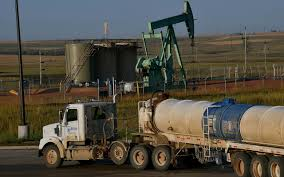 100 Brown Line Trucking In Shadow Of Oil Boom North Dakota Farmers Fight Contamination Al