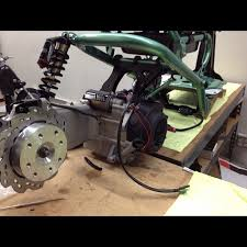 Project Forever Green FLP Rear Disc Brakes Composimo Fatty Mount Gy6 Ruckus