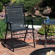 Serenity Outdoor Suspension Folding Patio Chair