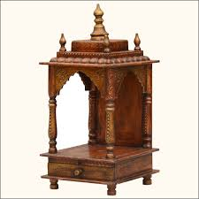 Mango Wood Home Temple GoRevizons Wooden Temple Online