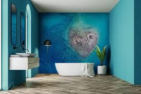 exotische schönheit für badezimmer fototapeten demur