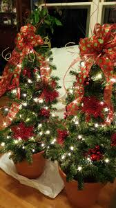 Crab Pot Christmas Trees Dealers by Pot Plant Christmas Tree Christmas Lights Decoration