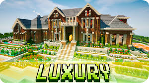 Images Mansions Houses by Minecraft Luxury Brick Mansion House Map W