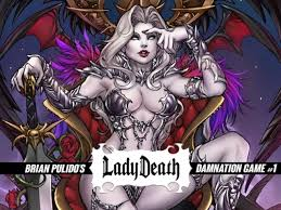 Project Updates For BRIAN PULIDOS NEW LADY DEATH GRAPHIC NOVEL
