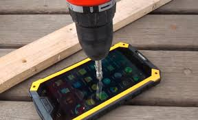 Drill Test on Conquest S6 Pro Rugged Smartphone