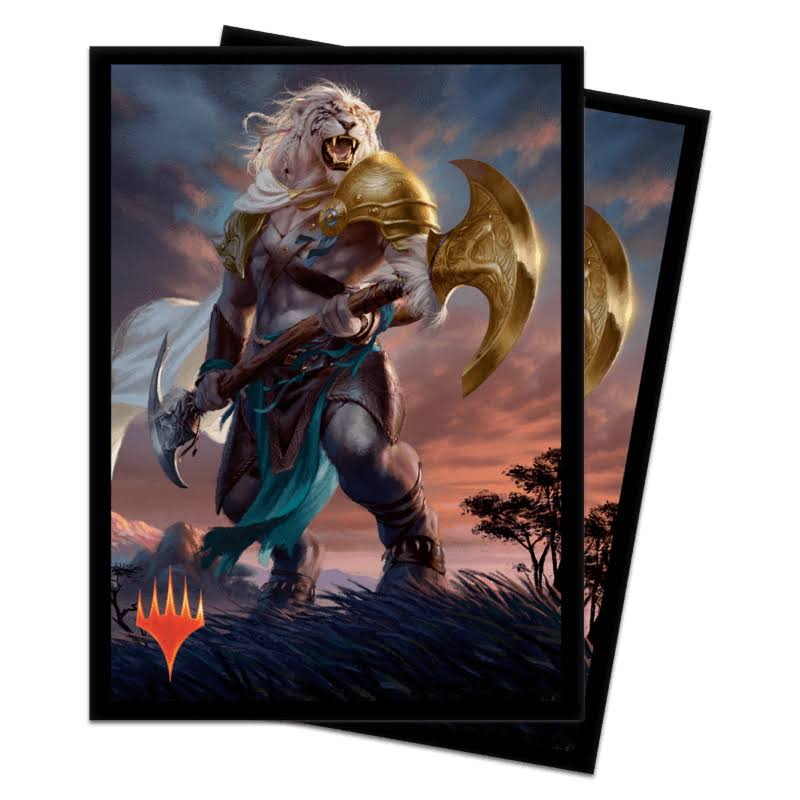 Ultra Pro Magic: The Gathering - Core 2020 Ajani Sleeves (100 ct.)