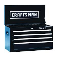 Craftsman 6 Drawer Rolling Tool Cabinet 14 In. D X 26-1/2 In. W X 45 ... The Images Collection Of Tool Storage Box For Pc Organizer Set Craftsman Fullsize Alinum Single Lid Truck Box Shop Your Way 1232252 Black Full Size Crossover 271210 17inch Hand Sears Outlet 26 6drawer Heavyduty Top Chest Whats In My 3 Drawer Toolbox Youtube Boxes At Lowescom Quick Craftsman Tool Restoration Plastic With Drawers Husky Drawer Removal Mobile