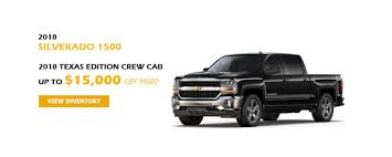 100 Texas Truck Deals 2018 Chevy Silverado 2018 Edition Crew Cab Up To 15000
