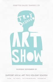 Traverse City Art Show Poster