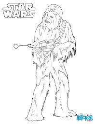 Chewbacca Coloring Sheet From The New Star Wars Movie Force Awakens More