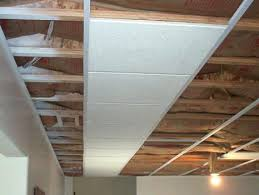 Inexpensive Basement Ceiling Ideas by Strikingly Beautiful Alternative Basement Ceiling Ideas 20 Budget