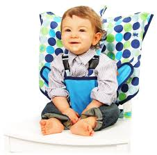 My Little Seat Infant Travel High Chair - Biggy Buttons