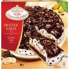 coppenrath wiese meistertorte banana split torte tiefgefroren 1 2 kg packung