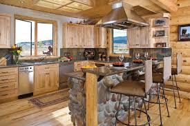 best log home kitchen design photos interior design ideas