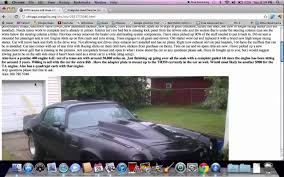 Chicago Craigslist Illinois Used Cars - Online Help For Trucks And ... The Husband Is In The House Herrsuite Used Van For Sale Wilmington Nc Cargurus Anyone Who Has Ever Sold Anything On Craigslist Can Relate To This Danville Ky Cars For Autocom Cash Junk Richmond Va Friendly Local Car Buyers By Owner Youtube Studio Two Three Togo Truck Brings Art Go Eertainment Scottsbluff Nebraska Private By Ordinary Charlotte Farm And Garden 7 Moving To Could This Rare 1982 Puma Gti Pull 2200 Va 72018 Buick Theres An Adorable Nissan Figaro Import Virginia