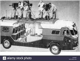 DuMont Telecruiser - Early TV Production Truck Stock Photo ...