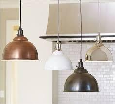 lighting design ideas copper pendant lights kitchen pleasant