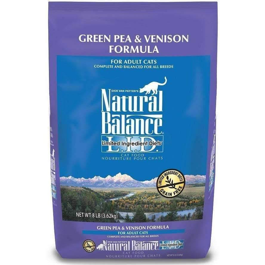 Natural Balance Cat Food - Green Pea & Venison