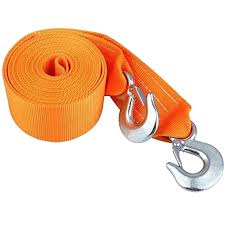 100 Tow Ropes For Trucks SELECTEC Rope Ing Belt Heavy Duty Strap 8 Tonne 6 Meter
