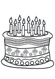 Cake Decorating Books Free by Coloring Pages Of Birthday Cakes Coloring Page Cake Decorating