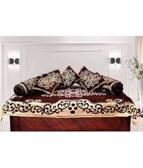3 Seater Sofa Covers by Fk 5 Seater Poly Cotton Set Of 15 Sofa Cover Set Buy Fk 5 Seater