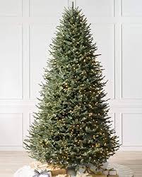 Balsam Hill BH Fir Premium Prelit Artificial Christmas Tree 75 Feet Clear Lights