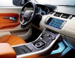land rover evoque interieur range rover evoque interieur le auto