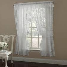 Priscilla Curtains With Attached Valance by Priscilla Curtains