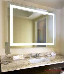 manificent design lighted bathroom wall mirror sumptuous