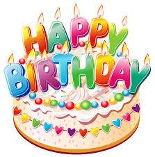Birthday cake clip art black birthday ClipartBarn