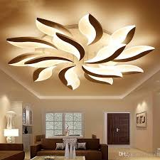 großhandel neue moderne led deckenleuchten acryl runde deckenleuchte für wohnzimmer schlafzimmer innendeckenleuchte für kinderzimmer veranda