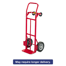 Safco 4086R Two Way Convertible Hand Truck 500 600lb Capacity 18w X ... Hand Truck Metal Two Solid Wheels Trucks Dolly Movers Safco Tuff Convertible 4070 Orangea Step Ladder Folding Cart 175lbs With Econo Air Tires Cadian Business Distributors Inc Office Supplies Mailing Mrhandtruck Happybuy Alinum 400kg Capacity Trolley Milwaukee 1000 Lb 4in1 Truck60137 The Home Depot Cboard Boxes On White Stock Illustration 172892669 2 Wheeled Best 2017 Potted Plant Green Head