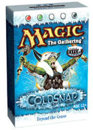 Magic The Gathering Premade Decks Ebay by Coldsnap Theme Deck Beyond The Grave Sealed Product Sealed Price