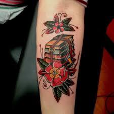 71 Cool Book Tattoos That Are Pretty Badass