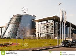 mercedes siege mercedes headquarter editorial stock photo image of italy