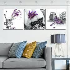 Flower Wall Decor Target by Metal Wall Decor Target Canvas Art Set Landscape In Purple