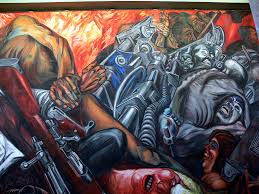 historic painting katharsis by josé clemente orozco 1934